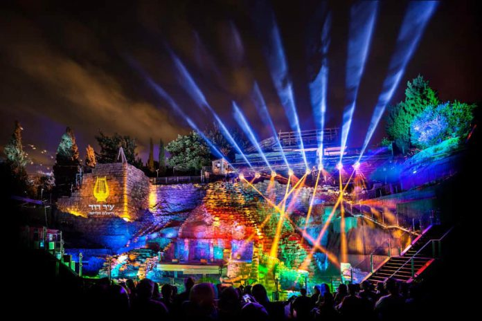 מופע הלילה של עיר דוד